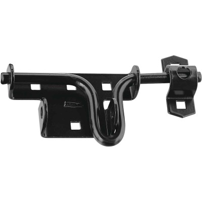 National Black Slide Bolt Latch
