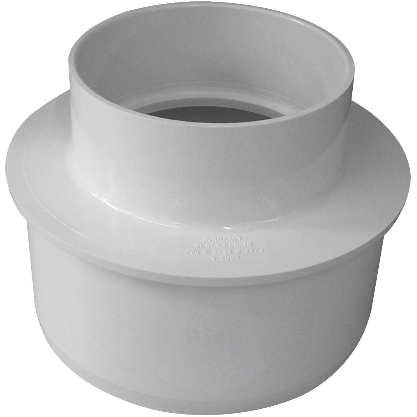 IPEX Canplas SDR 35 6 In. x 4 In. PVC Sewer and Drain Reducer Bushing Image 1
