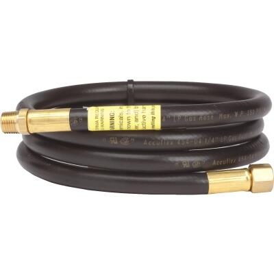 MR. HEATER 5 Ft. x 1/4 In. MPT x 1/4 In. FPT LP Hose Assembly