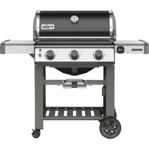 Weber Genesis II E-310 3-Burner Black 37,500 BTU Natural Gas Grill