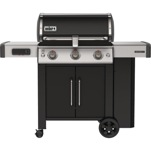 Weber Genesis II Smart Grill EX-315 3-Burner Black 39,000 BTU LP Gas Grill
